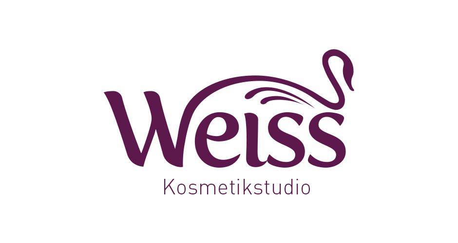 Corporate Design und Logogestaltung für Kosmetikstudio Weiss